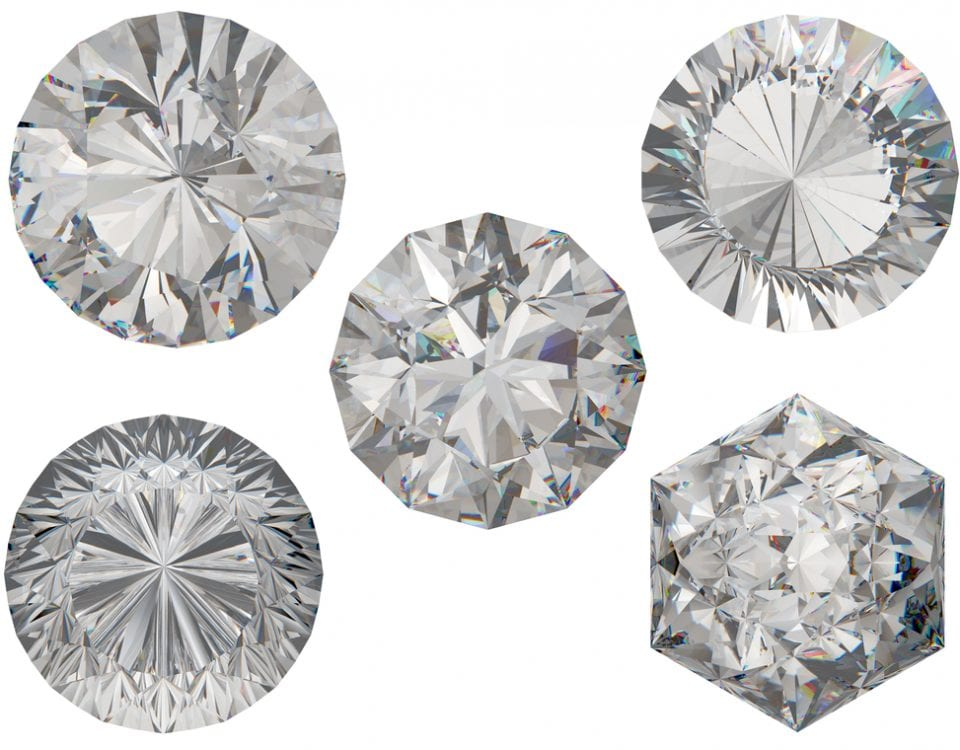 diamond ratios popular cuts
