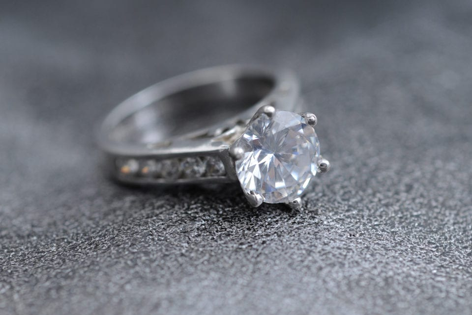 stages top-down engagement ring purchasing