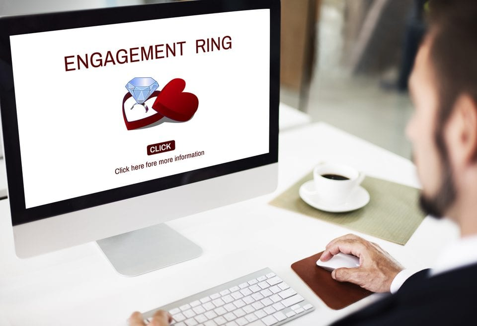 advanced research engagement ring