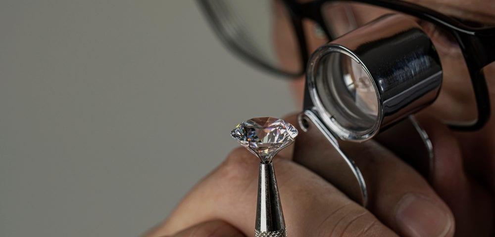 eye-clean diamond identification